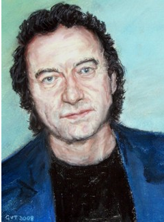pastel portrait of George Irving